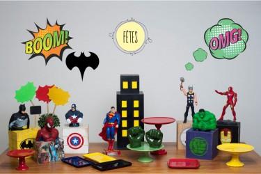 Kit Super Heróis
