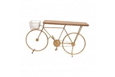 Aparador Mesa Bike Dourada